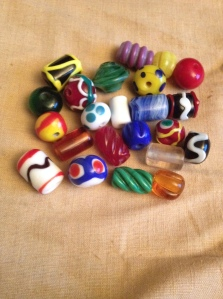 Historically accurate reproduction glass beads in any style, color, or shap
