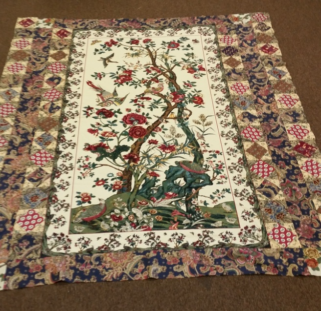 Tree of life quilt top 2015