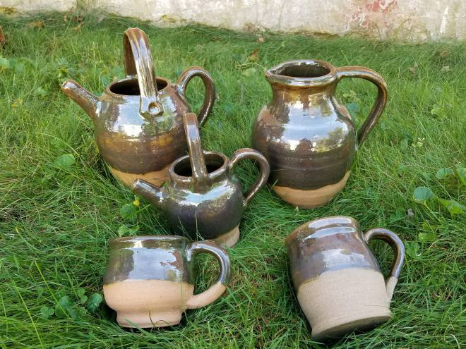 New reproduction French colonial pottery available for the 2017 Feast of the Hunters' Moon