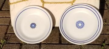 Faience plates