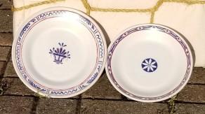 Faience plates 2 (2)